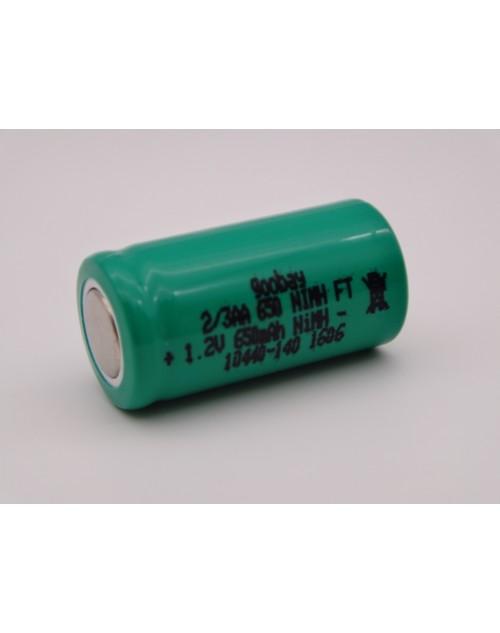 Acumulator industrial 2/3AA 650mAh Ni-Mh 1.2V Goobay cod 10440-140 1606