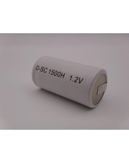 BYD D-SC1500H acumulator industrial Ni-Cd 1,2V subC 1500mAh