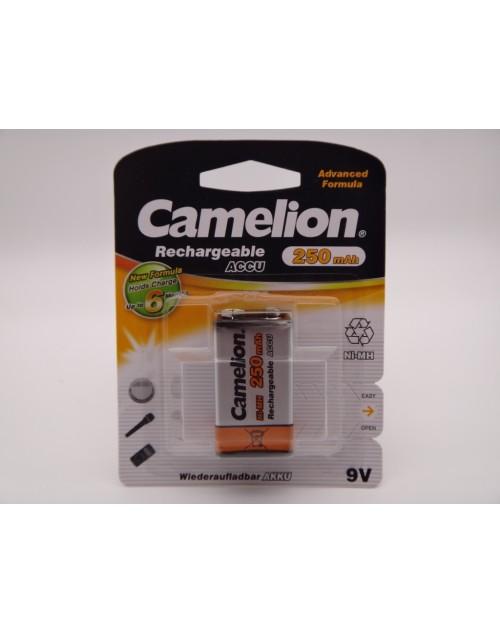 Camelion acumulator 9V, 250mAh Ni-Mh