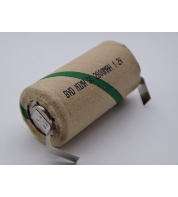 Acumulator industrial BYD subC Ni-Mh, 1.2V, 2800mAh pentru bormasina, surubelnita electrica, aspirator