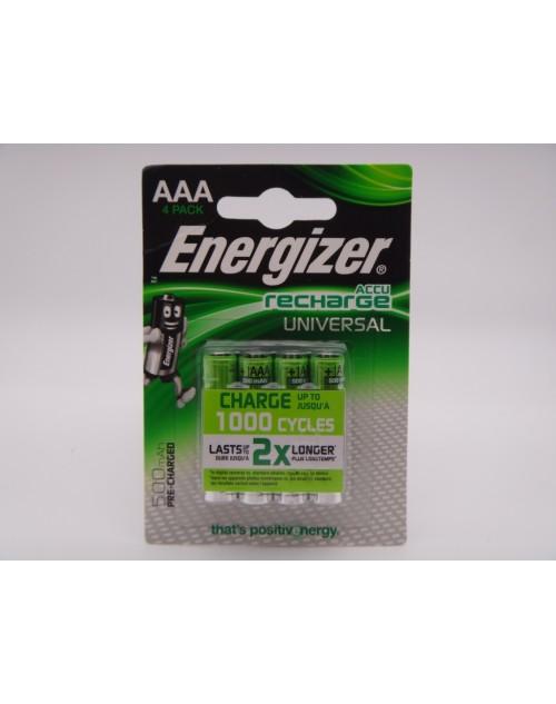 Energizer acumulatori 1.2V AAA HR03 Ni-Mh 500mAh telefon fix, lampi solare
