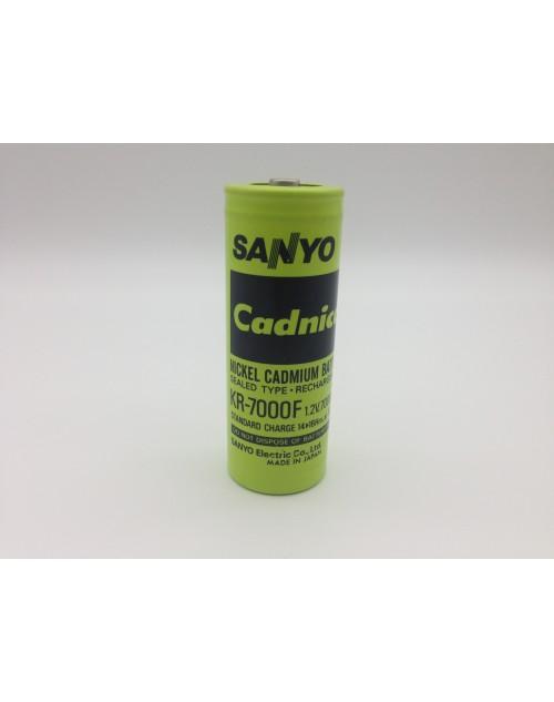 Sanyo Cadnica acumulator NI-CD KR-7000F 1,2V 7000mAh
