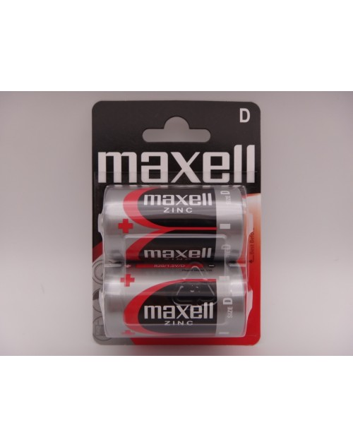Maxell R20 D zinc carbon 1.5V MN1300 blister 2