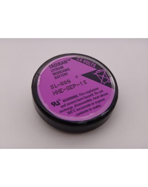 Tadiran SL 889 baterie litiu 3.6V 1000mAh cu 3 pini