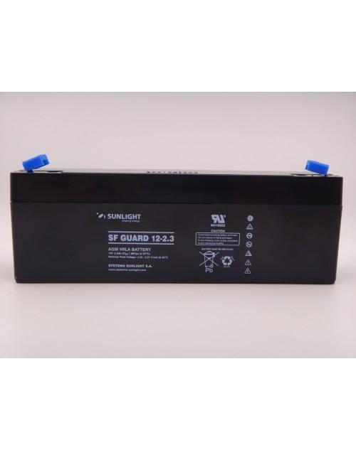 Sunlight 12V 2.3Ah acumulator AGM VRLA SF Guard 12-2.3
