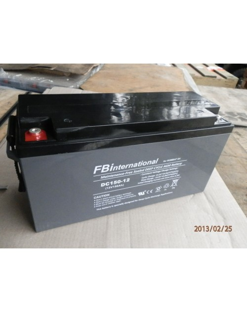 Acumulator 12V 150Ah VRLA, GEL, AGM FBinternational for ROMBAT