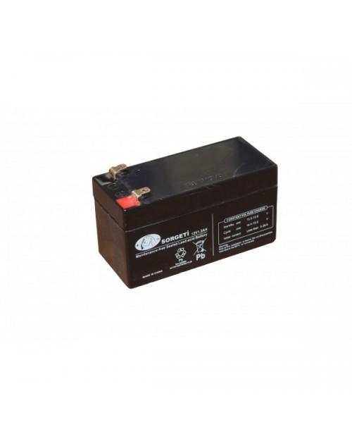 Acumulator stationar VRLA / AGM 12V - 1,2Ah SORGETI