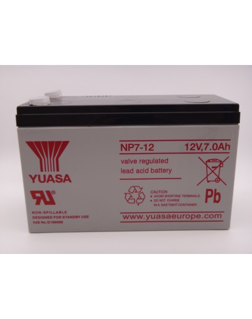Yuasa NP7 - 12 acumulator stationar VRLA 12V - 7Ah