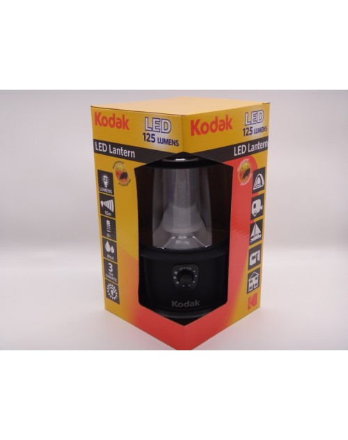 Lanterna tip felinar pentru camping Kodak cu 20 leduri 125 lumeni IP64 cod LL02-K88LM-1