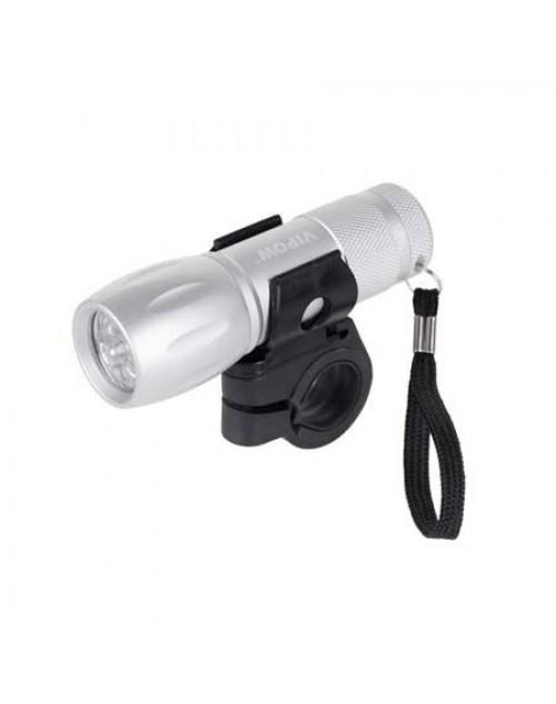 Lanterna 9 leduri pentru bicicleta 3W