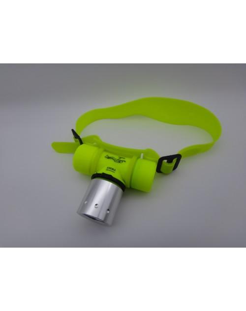 Lanterna cap subacvatica pentru scufundari Led 10W acumulator inclus 18650 FL-22