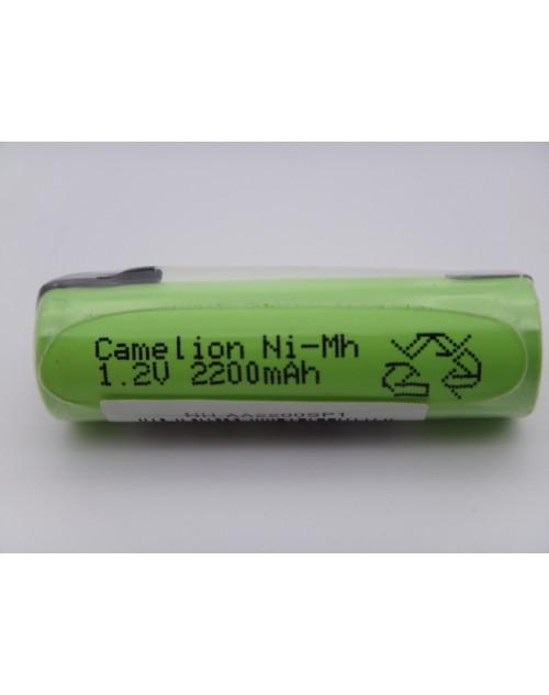 Camelion acumulator industrial R6, AA, 1.2V, 2200mAh Ni-Mh lamele pentru lipire