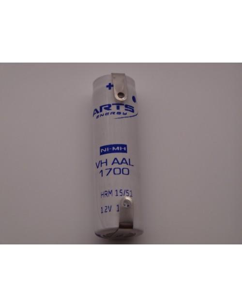 Acumulator industrial VH AAL 1700mAh Ni-Mh 1.2V ARTS ENERGY Licensed by SAFT