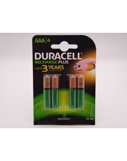Duracell acumulatori HR03 Ni-Mh AAA 1.2V 750mAh ready to use DC2400 Duralock