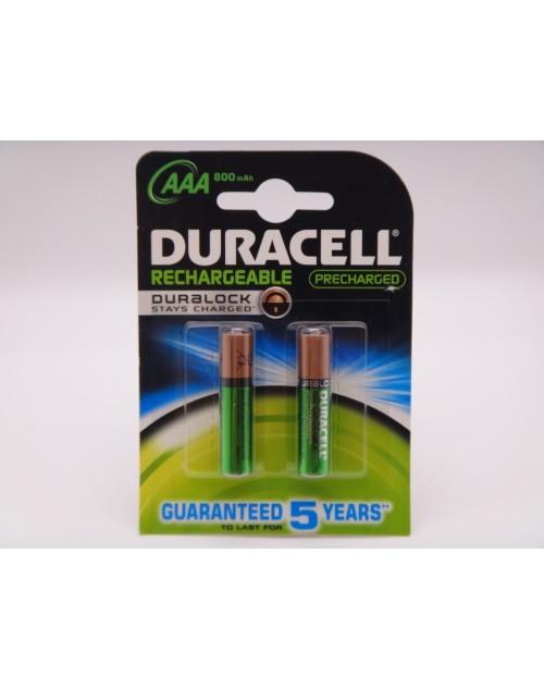 Duracell acumulatori HR03 Ni-Mh AAA 1.2V 800mAh ready to use DC2400 Duralock