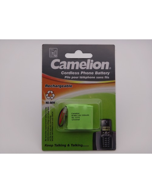 Camelion C015 acumulator cordless 3,6V, Ni-MH, 300mAh T207