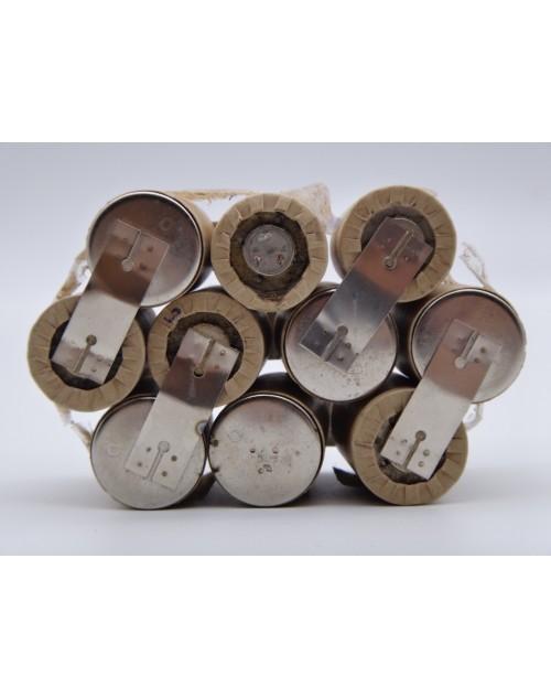 Inlocuire, reconditionare acumulatori defecti prin lipire cu sudura in puncte la bormasina, aspirator, echipamente electrice