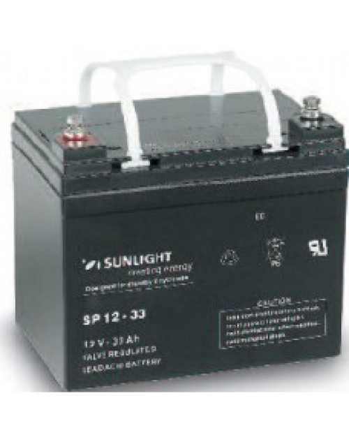 Sunlight 12V 33Ah acumulator AGM VRLA Accuforce 12-33