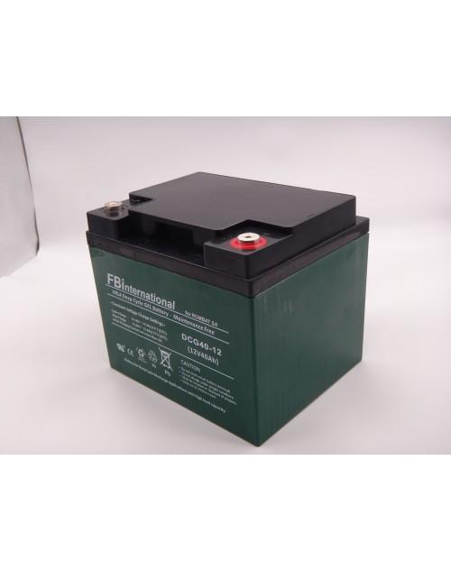 Acumulator 12V 40Ah VRLA, GEL 199x166x173mm pentru carucior electric FBinternational for ROMBAT